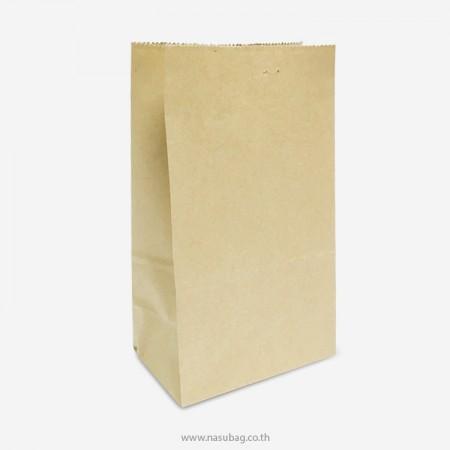ถุงกระดาษน้ำตาลใส่ของ S