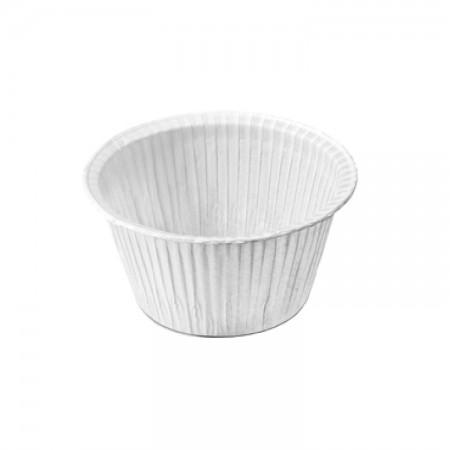 ถ้วยมัฟฟินสีขาว