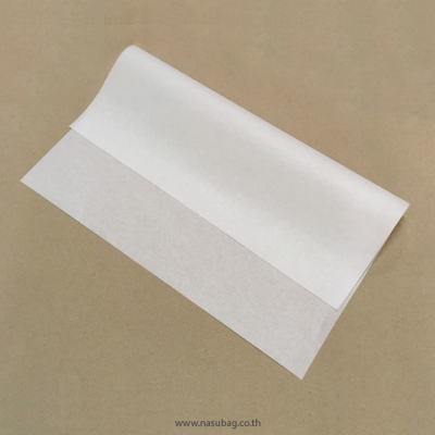 White Wrapping Paper 10x10""